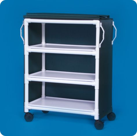 Pvc Clean Linen Cart C Lc36 3 Latest Products