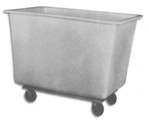 Polyethylene Laundry Cart