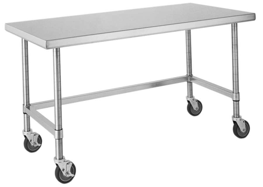 Stainless Steel Tables On Wheels