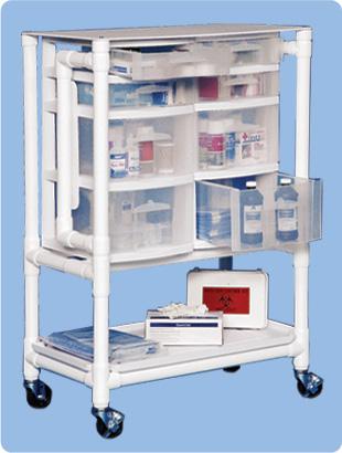 PVC Medical Supply Cart | Mobile Hospital Carts | Latest
